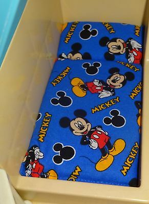 Little Tikes Dollhouse  Mattress  Blue Mickey Mouse Upto 4 Ship 4 Price Of1