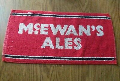 (Look) McEwans beer bar pub cloth towel game room man cave