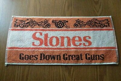 (Look) Stones Beer bar pub towel game room man cave