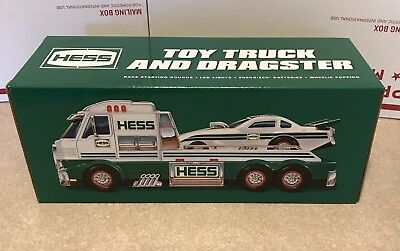 Hess Toy Truck 2016 Toy Truck And Dragster  Mib