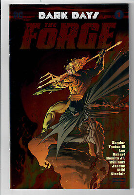 DARK DAYS: THE FORGE #1 - Grade NM - Convention Exclusive Foil Variant!