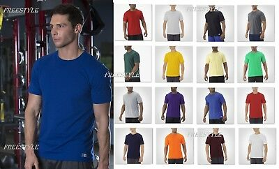 New! Russell Athletic Essential Short Sleeve Sport Gym Performance Tee 64STTM