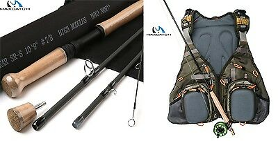 MaxCatch Explorar SR-S7/8 Switch-Rod + V-Pop-Weste !!!!!!!!!!€ 35 GESPART!!!!!!!