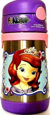 Thermos Disney Princess Sofia the First Funtainer Stainless Steel Insulated 10oz