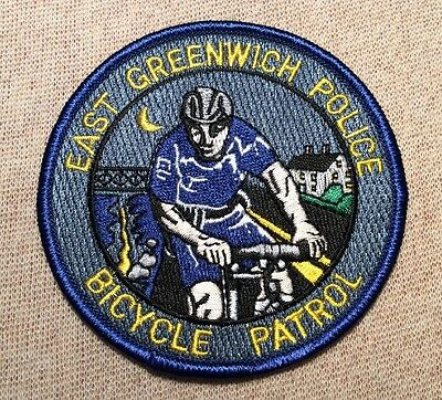 CT East Greenwich Connecticut Bicycle Patrol Police Patch