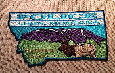 MT Libby Montana Millennium Police Patch