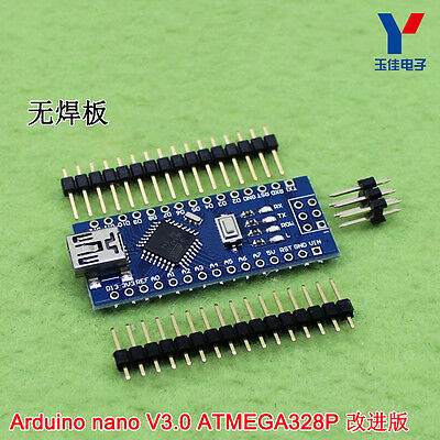1PC NEW Nano V3.0 ATmega168 CH340G mini USB compatibile Arduino NANO K9