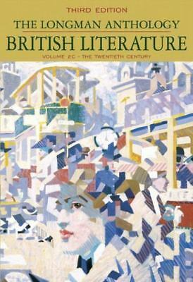 New the longman anthology of british literature 2nd compact edition the longman anthology of british literature volume 2c the twentieth century fandeluxe Choice Image