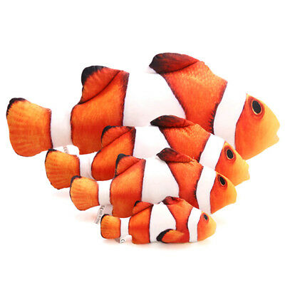 Interactive Pet Cat Play Fish Shape Mint Catnip Chewing Scratch Toy Gifts New
