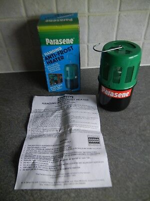 Parasene Paraffin Hanging Anti-Frost Heater Greenhouse/Cold Frame/Garage/Shed