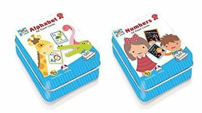A-Z Alphabet / Numbers Flash Cards Set  Educational Learning Picture & Letter