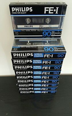 PHILIPS FE I 90 (×10) : 1985-86 : Made in Belgium : NEW & SEALED