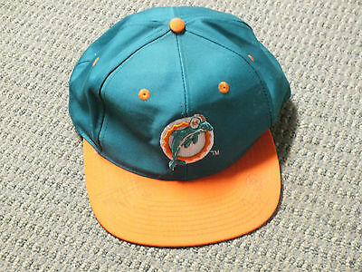 1997 Autograph Miami Dolphins snapback hat / cap of Shawn Wooden & Irving Spikes