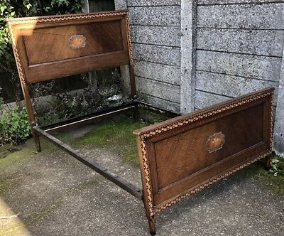 Good Oak Arts And Craft Double Bed