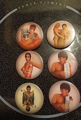 THE WHO: SELL OUT BADGES BUTTONS PIN daltrey entwistle townshend keith moon