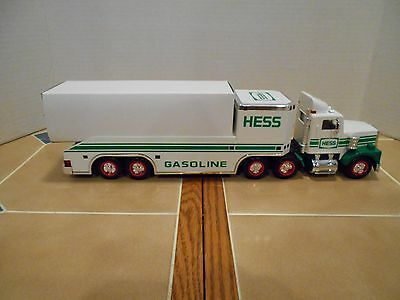 Hess 1995 toy truck and helicopter,NEW OLD STOCK , MINT!