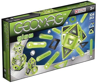 GEOMAG 337 Glow Magnetic Construction Set (104-Piece)