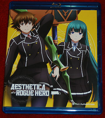 Aesthetica Of A Rogue Hero: Complete Series Funimation Anime 2 Disc Blu-Ray