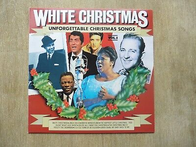"White Christmas - Unforgettable Christmas Songs Vol 1 12"" Vinyl LP"