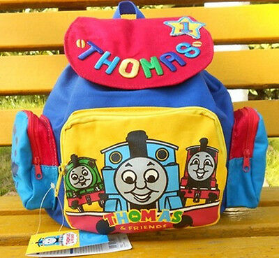 Disney Thomas&Friends Children's Boys Carton Cute Blue Edition School Backpack-2