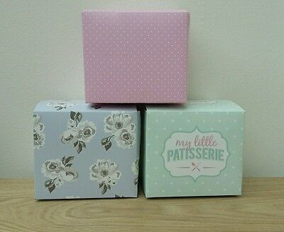 New Single Cupcake boxes individual muffin fairy cake display box 6 12 18 24