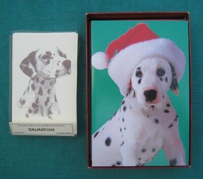 Dalmatian Puppy 30 christmas cards plus 8 note cards (and envelopes of course)