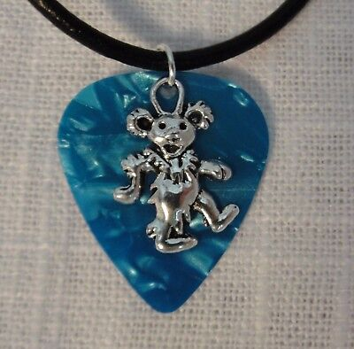 Grateful Dead Dancing Bear Necklace-Various Colors