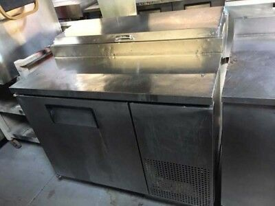 True One Door Pizza Prep Table Refrigerated TPP-44