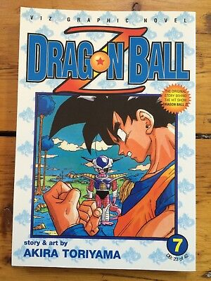 Dragonball Z manga vol 7 – Viz 1st English edition