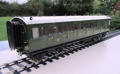 7mm Scale Highland Railway Drummond Bogie Corridor Composite #11
