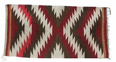Sally Arviso, Gallup Throw Rug, Navajohandwoven, 20.75 in x 41 in