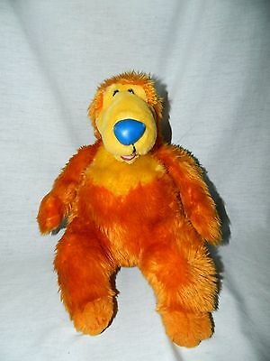 "Bear in the Big Blue House 14"" plush stuffed teddy Disney Store Retired"