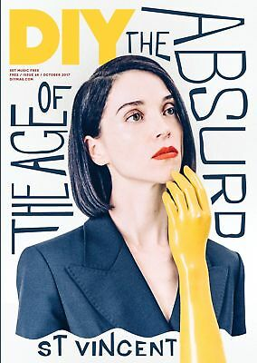 St Vincent Masseduction Bully Weaves Idles Catholic Action Diy Magazine Oct 2017