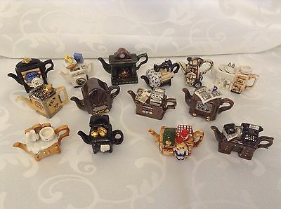 Cardew Collectable Novelty Miniature Tiny Teapots £7.95 Each Perfect Condition