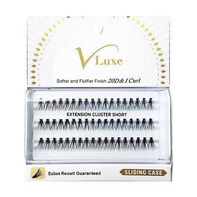 9fcf36261ff V-Luxe By Kiss I Envy J Curl Mink Eyelashes - Vlei01 Extension Cluster Short