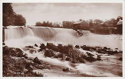 Salmon Leap On RIver Bann, COLERAINE, County Londonderry, Ulster RP