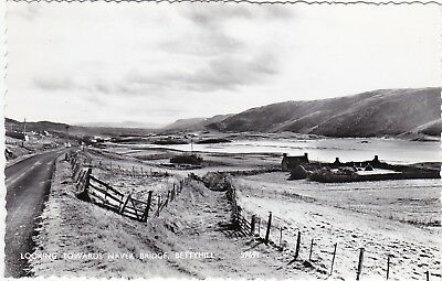 Looking Towards Naver Bridge, BETTYHILL, Sutherland RP