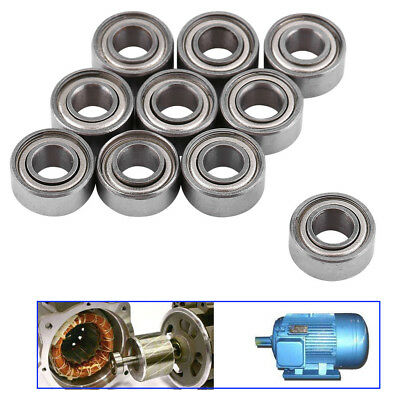 10x Radial Ball Bearings 3D Printer Bearing for Reprap Silver 608zz - 688zz