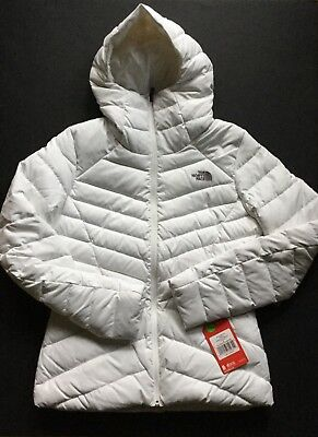 e1257b4b784e9 The North Face Women's Moonlight Down Hooded Jacket in TNF White Medium 2017