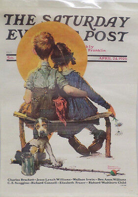 The Saturday evening Post Poster April 24, 1926 Norman Rockwell