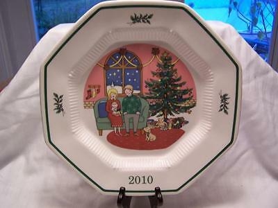 2010 NIKKO The First Noel - 18th Edition Collector's Plate Christmastime Japan