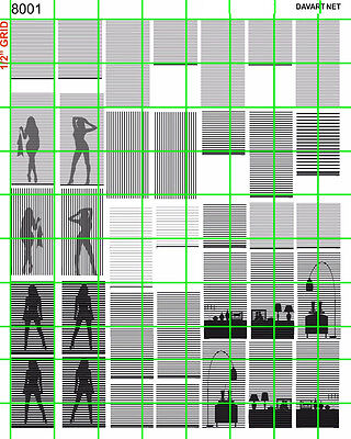 8001a DAVE'S DECALS 1:87 WINDOW BLINDS & SILHOUETTE PEOPLE  FURNITURE