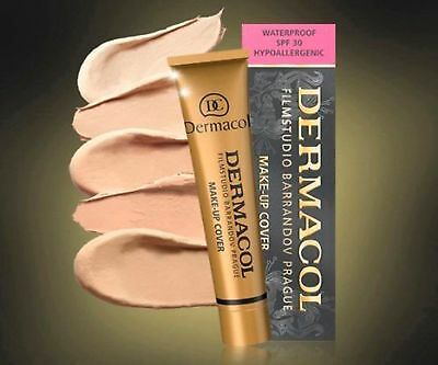 Dermacol High Covering Make Up Foundation Legendary Film Studio Hypoallergenic