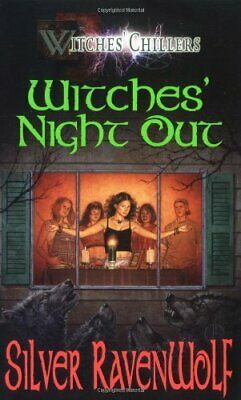 Witches' Night Out (Witches Chillers) by RavenWolf, Silver Paperback Book The