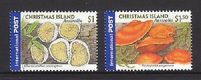2001 Christmas Island Fungi International stamp set (MUH)