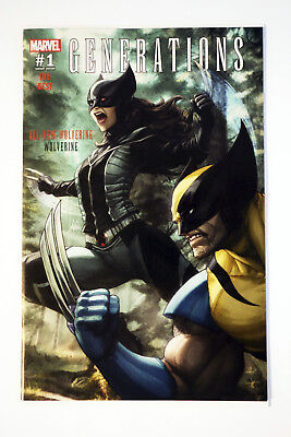 Generations All New Wolverine - Wolverine #1 Artgerm Variant Fan Expo Exclusive