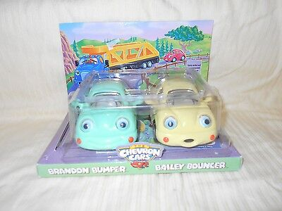 The Chevron Cars Brandon Bumper & Bailey Bouncer Toy Car 1999
