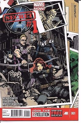 Marvel Comics SECRET AVENGERS #1 first printing