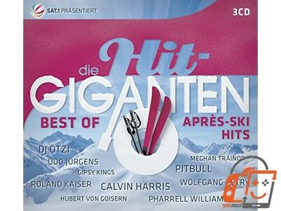 Die Hit Giganten Best of Après Ski Hits [Audio CD] Various - NEU