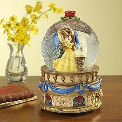 Beauty and the Beast Musical Snowglobe (Disney Store) Complete with Box